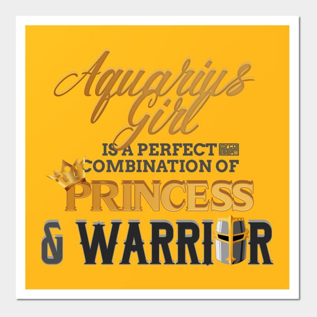 AQUARIUS Girl Princess Warrior Horoscope Birthday - Aquarius Zodiac ...