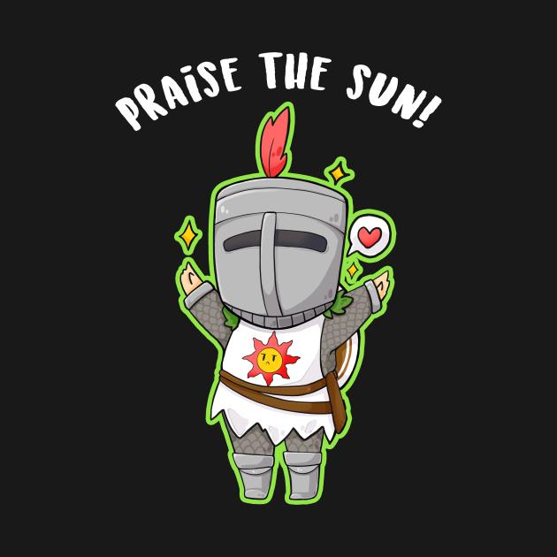 Praise the Sun - chibi Solaire dark souls