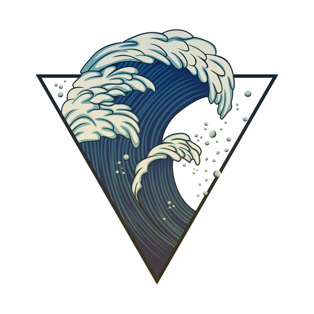 waves in triangle
