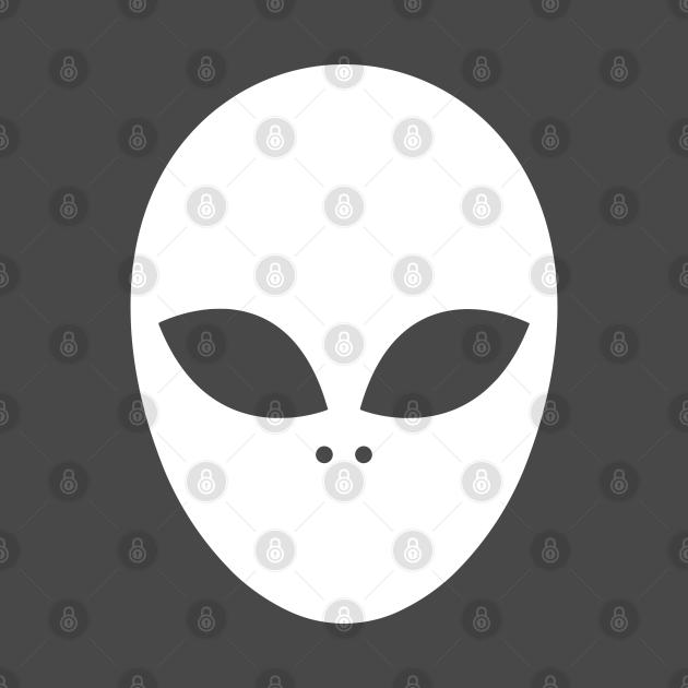 Alien Head Logo Left Chest