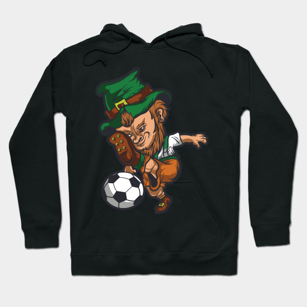755622e14 Leprechaun Soccer T Shirt St. Patrick's Day Irish Shamrock - St ...