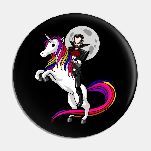 Vampire Riding Unicorn