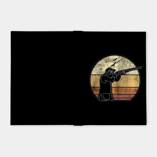 Round shotgun clay pigeon shooting Trap Skeet sport shooter