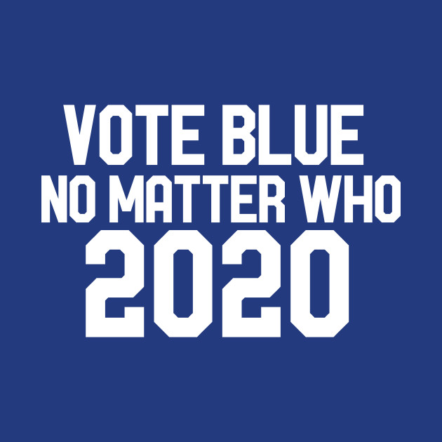 Image result for vote blue in 2020