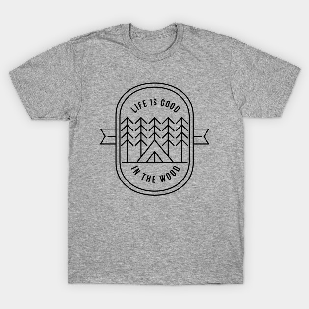 Simple Minimalistic Graphics For Campers, Hikers, Travelers