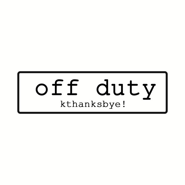 No. 1 Off Duty