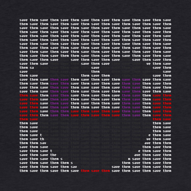 The Puppet Typography T-Shirt (Five Nights At Freddy's)
