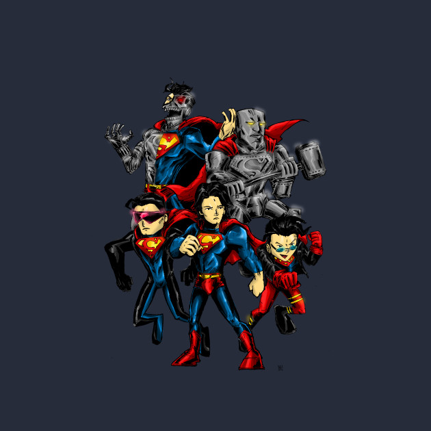 Reign of Supermen by bred_bt