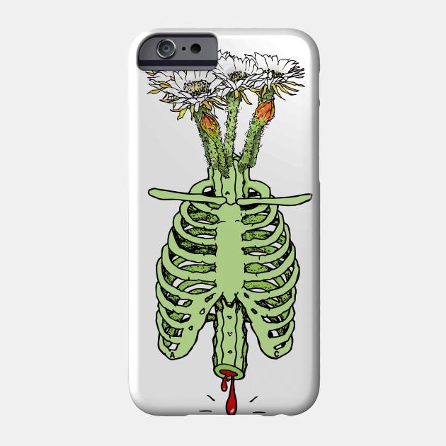 Cactus Anatomy02 - Anatomy - Phone Case   TeePublic