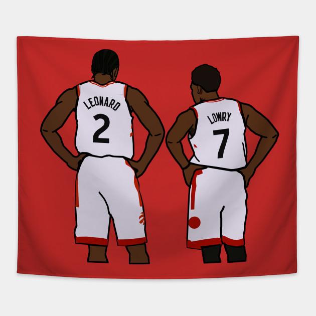 buy online 06320 72ec9 Kawhi Leonard and Kyle Lowry - NBA Toronto Raptors
