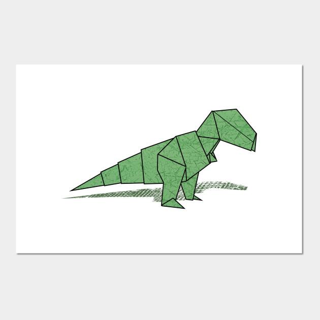 Part1/3 : How to fold Origami T-Rex 摺紙暴龍教學(Kade Chan ... | 630x630
