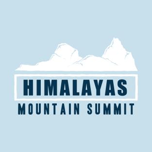 Himalayas Mountain Summit t-shirts