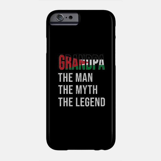 Grand Father Palestinian Grandpa The Man The Myth The Legend - Gift for Palestinian Dad With Roots From  Palestine Phone Case