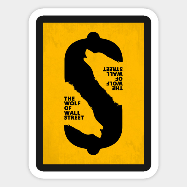 The Wolf of Wall Street - Minimal Movie Art - The Wolf Of Wall ...