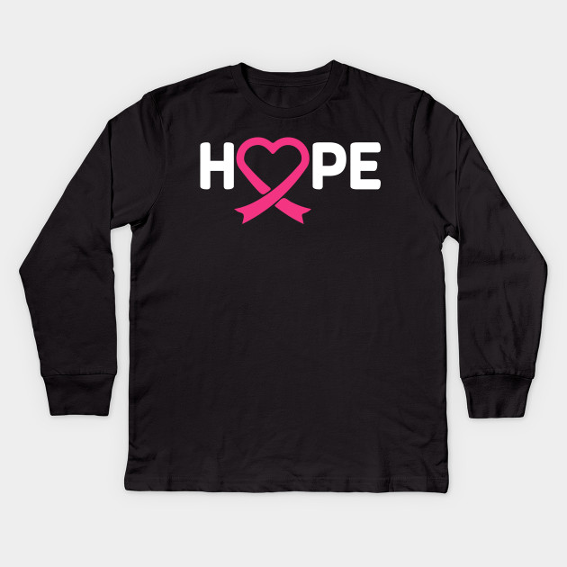 Fight Breast Cancer Youth T-shirt Pink Ribbon Awareness