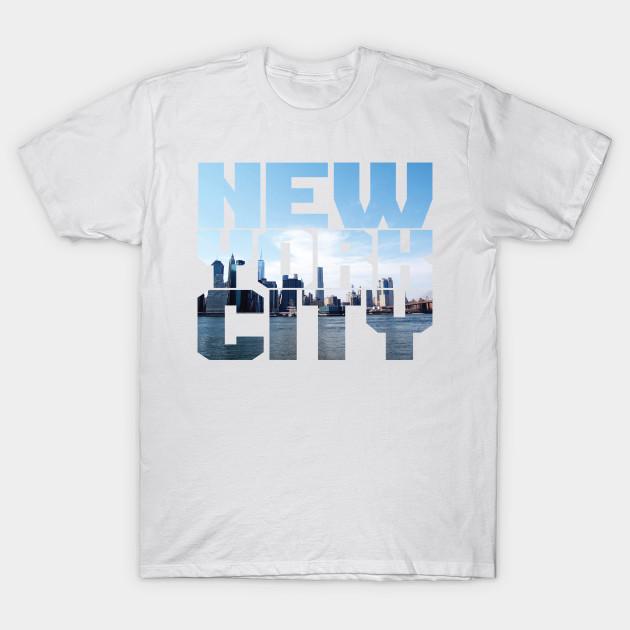 NYC  T-Shirt Geschenk Fun Party Mottoshirt New York USA