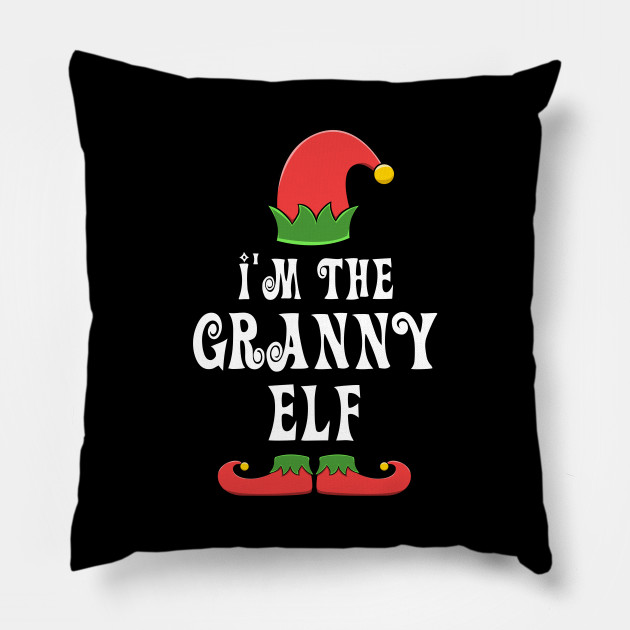 Granny Elf for Matching Family Christmas Group