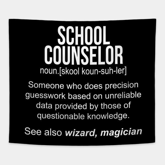 School Counselor noun definition funny shirt T-Shirt - Funny ...