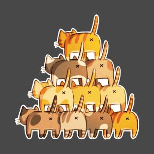 Butt Pyramid t-shirts