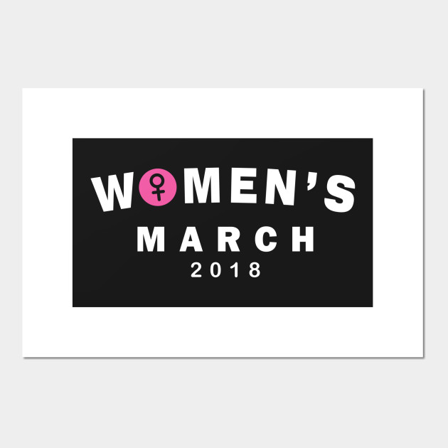 Womens March 2018 Gender Symbol Womens March 2018 Posters And