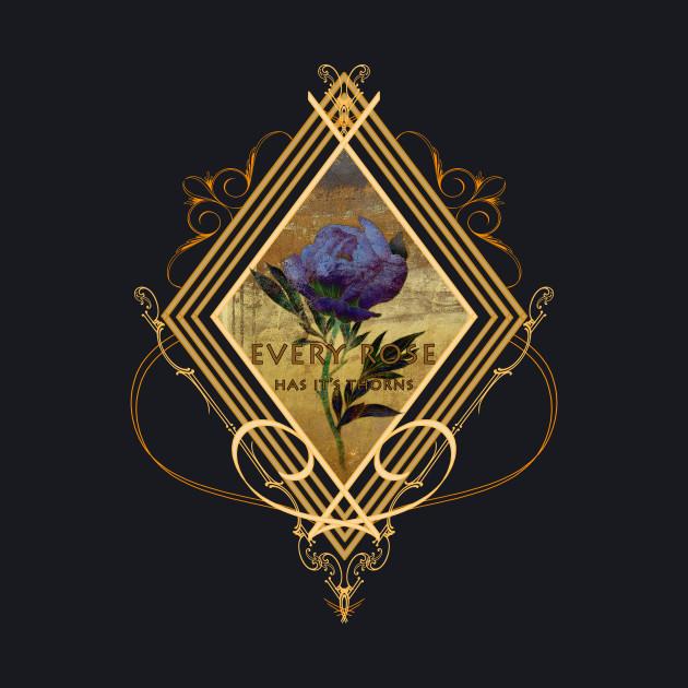 Art Deco Rose