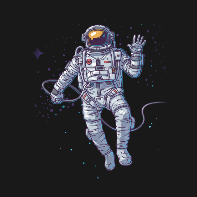 ... Spaceman on Moon' Cool Space Galaxy Gift