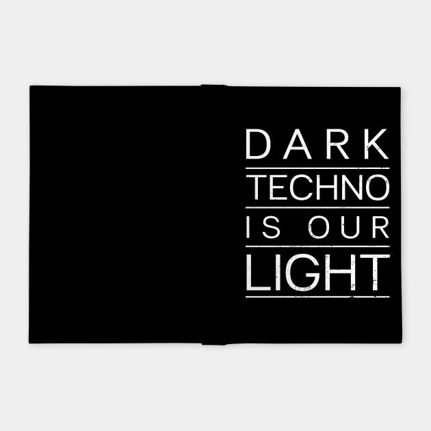 Edm Rave Shirt | Dark Techno Is Our Light Gift