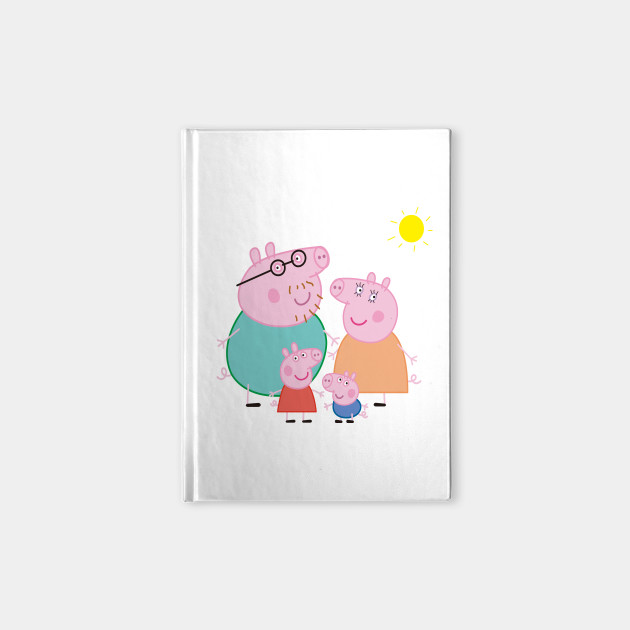 Daddy Pig Mummy Pig Domestic pig Television show Family, a pig, Peppa Pig  family illustration PNG clipart