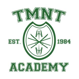 TMNT Academy t-shirts
