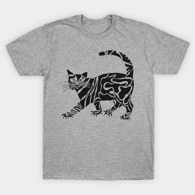 Cat Tattoo Cat Tattoo T Shirt Teepublic