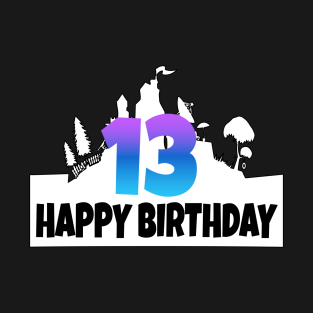 13th Birthday T Shirts