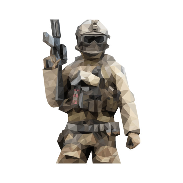 Poly Soldier