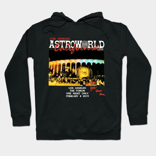 Travis Scott Astroworld Tour Merch 2019 T Shirt Funny Cotton Tee Gift Men