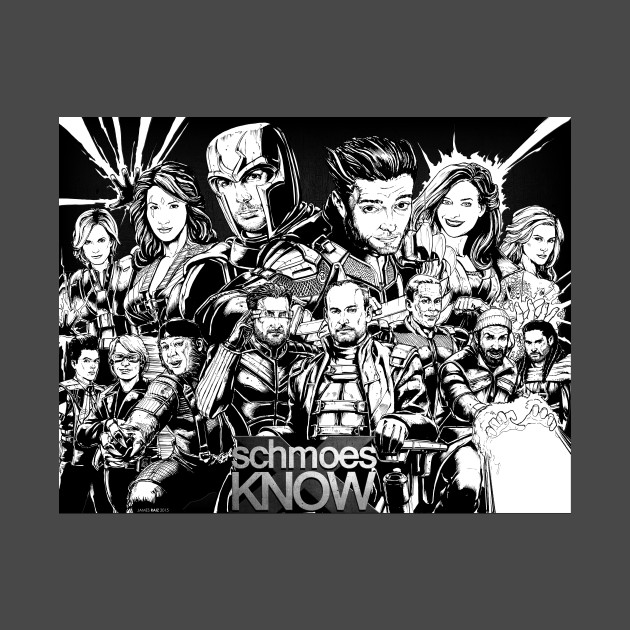 Schmoes Know X-Men Design