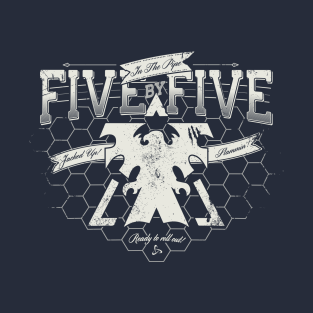 In the Pipe - Five by Five t-shirts