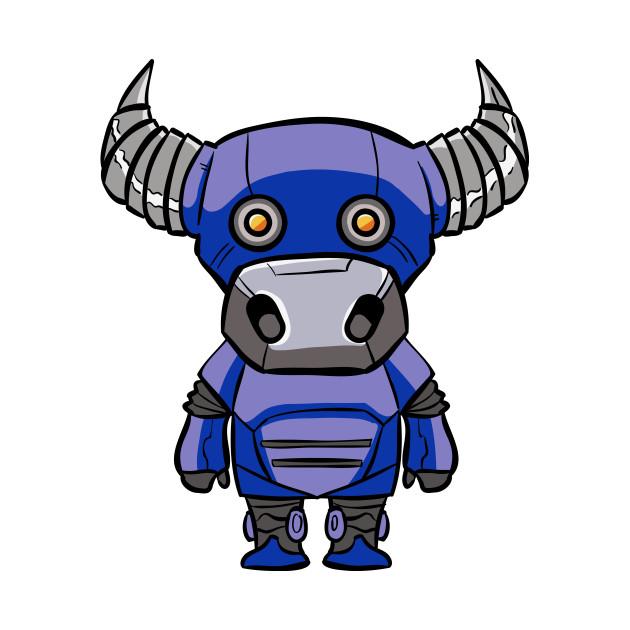Taurus Robotic Zodiac Sign