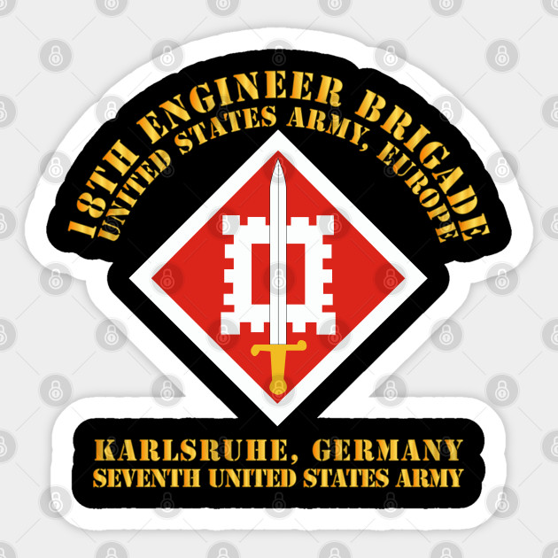 STICKER US ARMY EUROPE