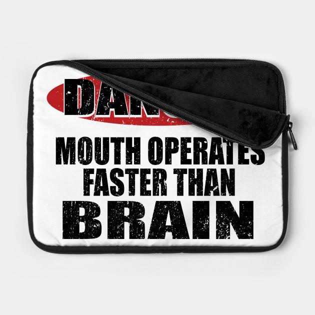 Danger speeches thinking brain sarcasm warning poi