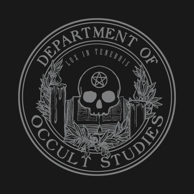 Occult Studies Crest - Gray