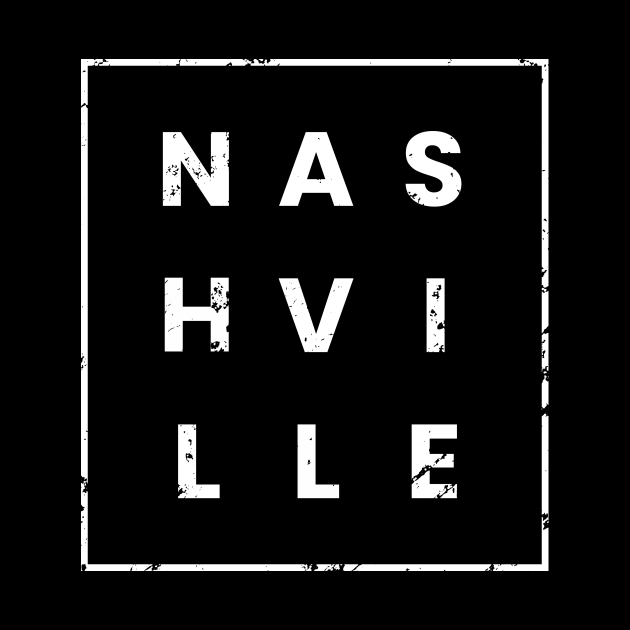 Nashville Tennessee Gifts TN Nashville Letters in a Box