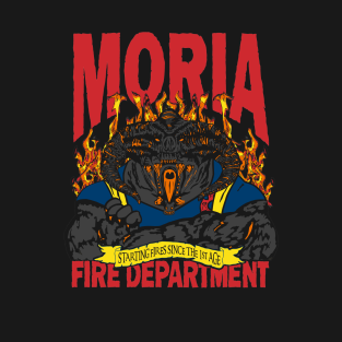 Moria Fire Department t-shirts