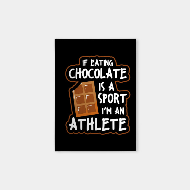 Chocolate Addicts Chocoholic Fitness Funny Sugar