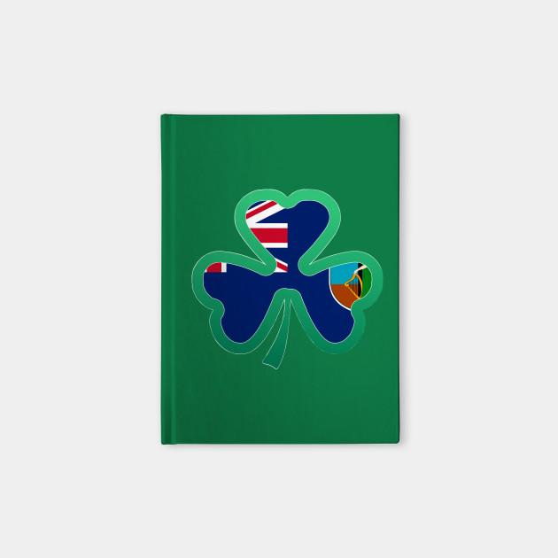 Montserrat Flag for st patricks day, Irish Shamrock