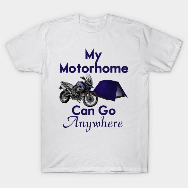 a8b70d75da63 Motorcycle Motorhome - Motorcycle Adventure - T-Shirt | TeePublic
