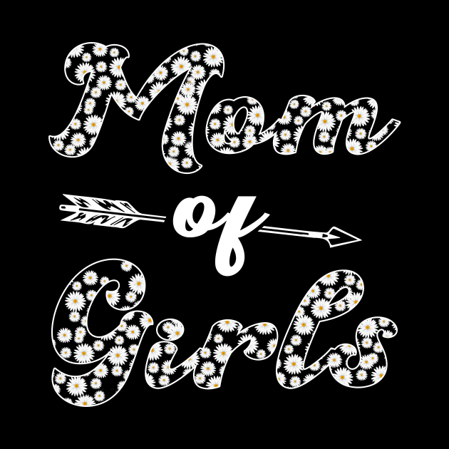 Mom Of Girls Custome Gifts
