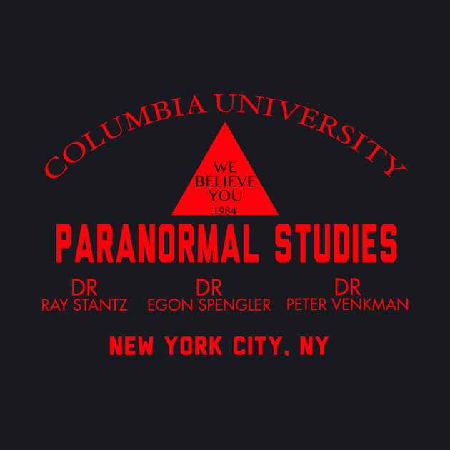 Ghost Buster Paranormal Studies 1984