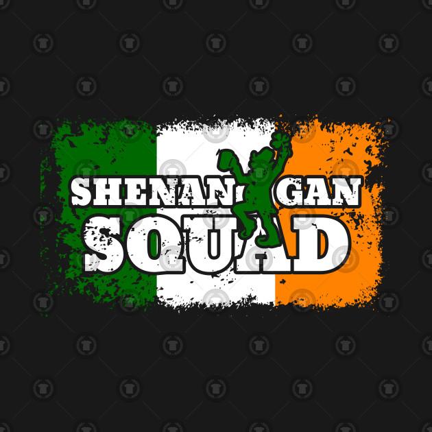 Shenanigan Squad St. Paddys Day