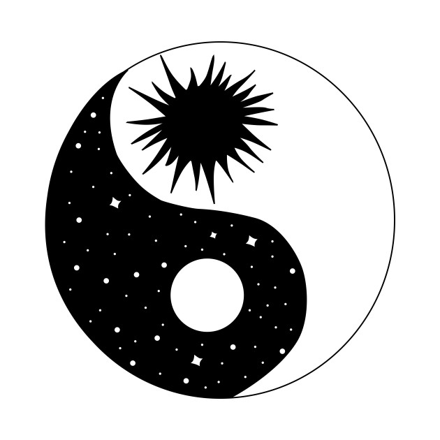 Sun And Moon Yin Yang Yin Yang T Shirt Teepublic