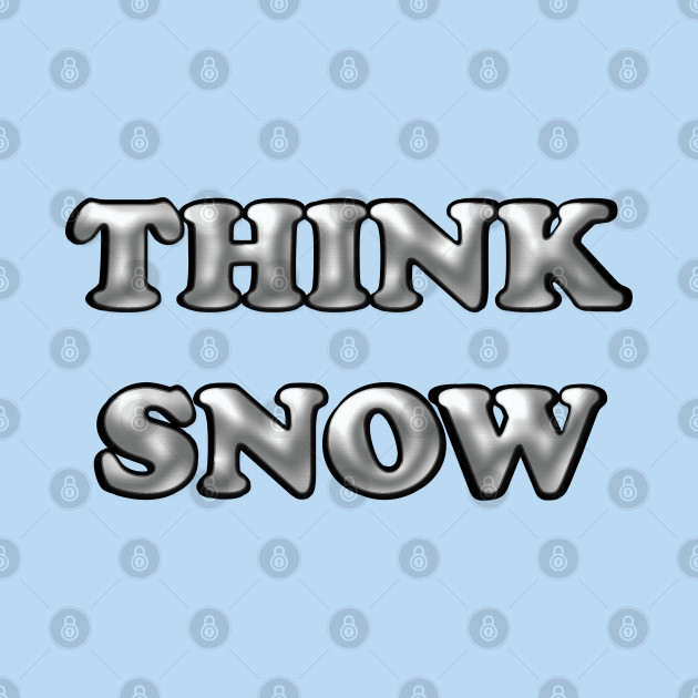 Gray Think Snow