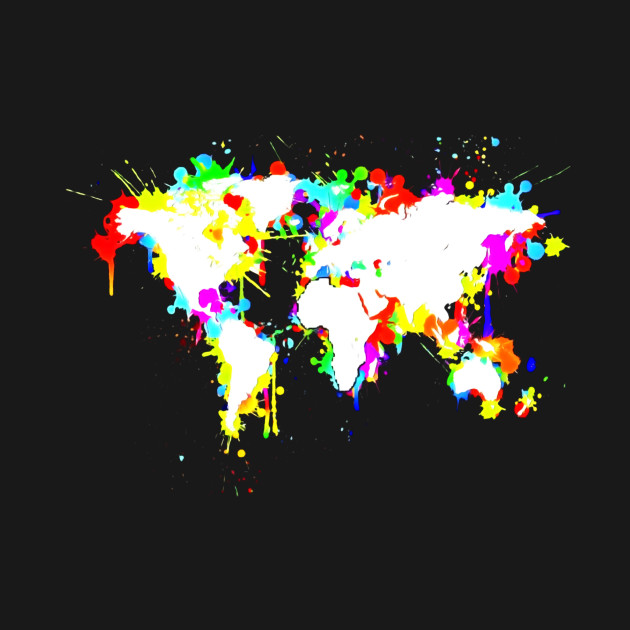 Graffiti world map t shirt school geography atlas global tee 2075059 1 gumiabroncs Choice Image
